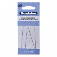 Beadalon Needle 5.7cm Big Eye Silver