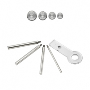 Beadalon Jump Ring Maker (4mm, 6mm, 7mm, 8mm) Silver