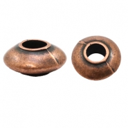 Beads TQ metal disc 15mm Copper (Nickel Free)