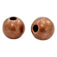 Beads TQ metal Ball 15mm Copper (Nickel Free)
