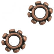 Beads TQ metal Bali ring Copper (Nickel Free)