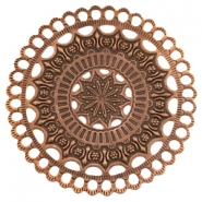 Charms TQ metal Mandala Copper (Nickel Free)