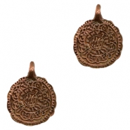 Charms TQ metal Oriental coin Copper (Nickel Free)