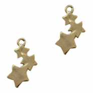 Charms TQ metal stars Gold (Nickel Free)