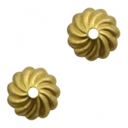 Beads TQ metal beadcap Antique Gold (Nickel Free)