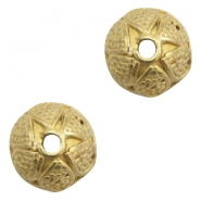 Beads TQ Deco beadcap Antique Bronze (Nickel Free)