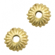 Beads TQ Deco disc 10mm Antique Bronze (Nickel Free)