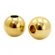 Beads TQ metal 15mm Gold (Nickel Free)