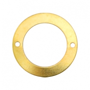 Charms TQ metal connector ring 27mm Gold (Nickel Free)