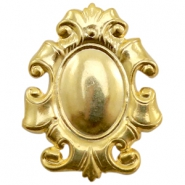 Findings TQ metal Baroque style Gold (Nickel Free)