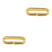 Findings TQ metal slider Ø14x3.8mm Gold (Nickel Free)
