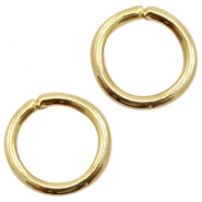 Findings TQ metal jumpring 16mm Gold (Nickel Free)
