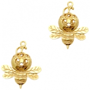 Charms TQ metal bees Gold (Nickel Free)