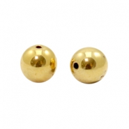 Beads TQ metal 8mm Gold (Nickel Free)