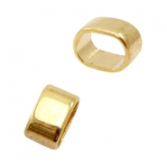 Findings TQ metal slider Ø10.7x7mm Gold (Nickel Free)