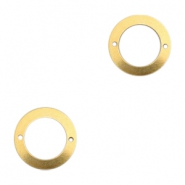 Charms TQ metal connector ring 21mm Gold (Nickel Free)