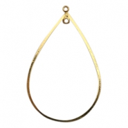 Charms TQ metal drop Gold (Nickel Free)