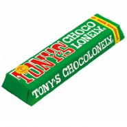 Tony's Chocolonely chocolate bar milk hazelnut 47 grams