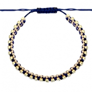 Ready-made Bracelets strass Dark Blue-Crystal