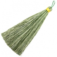 Tassels 13cm Multicolour Green