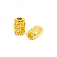 DQ European metal beads tube Ø2.3mm Gold (nickel free)