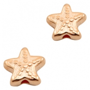 DQ European metal beads seastar Rose Gold (nickel free)