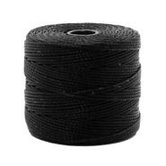 Nylon S-Lon cord 0.6mm Black
