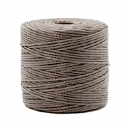 Nylon S-Lon cord 0.6mm Taupe