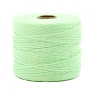 Nylon S-Lon cord 0.6mm Pastel Mint Green