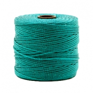 Nylon S-Lon cord 0.6mm Teal Green