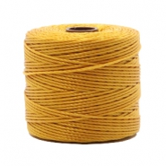Nylon S-Lon cord 0.6mm Golden Yellow