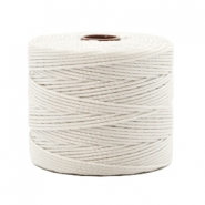 Nylon S-Lon cord 0.6mm Off White