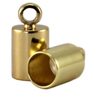 DQ end cap 3mm DQ Gold durable plating