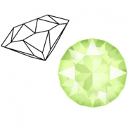 Swarovski Elements 1088-SS 29 chaton ( 6.2mm) Crystal Lime