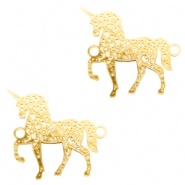 Bohemian connectors unicorn Gold