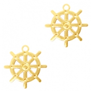 Bohemian charms rudder Gold