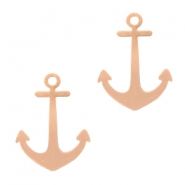 Bohemian charms Anchor Rose Gold