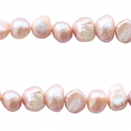 Freshwater pearls nugget 3-4mm Light Pink