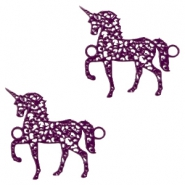 Bohemian connectors unicorn Dark Purple