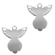 Charms stainless steel angel Silver