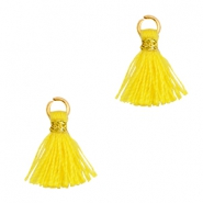Tassels 1cm Gold-Cyber Yellow