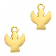 DQ European metal charms angel Gold (nickel free)