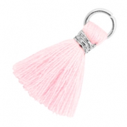 Tassels 1.8cm Silver-Blushing Bride Rose