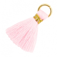 Tassels 1.8cm Gold-Blushing Bride Rose