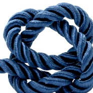 Trendy cord weave 6mm Royal blue