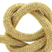 Maritime cord 10mm Metallic gold