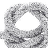 Maritime cord 10mm Metallic silver
