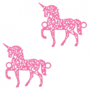 Bohemian connectors unicorn Pink