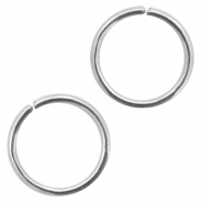 Stainless Steel findings jump ring 10mm Antique Silver