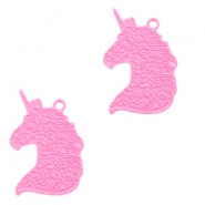 Bohemian charms unicorn Pink